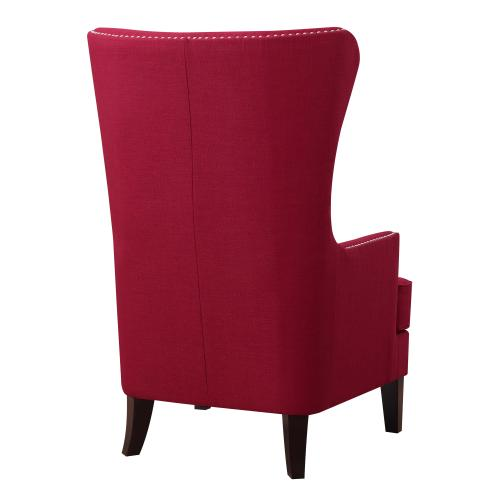 Kori Accent Chair in Berry