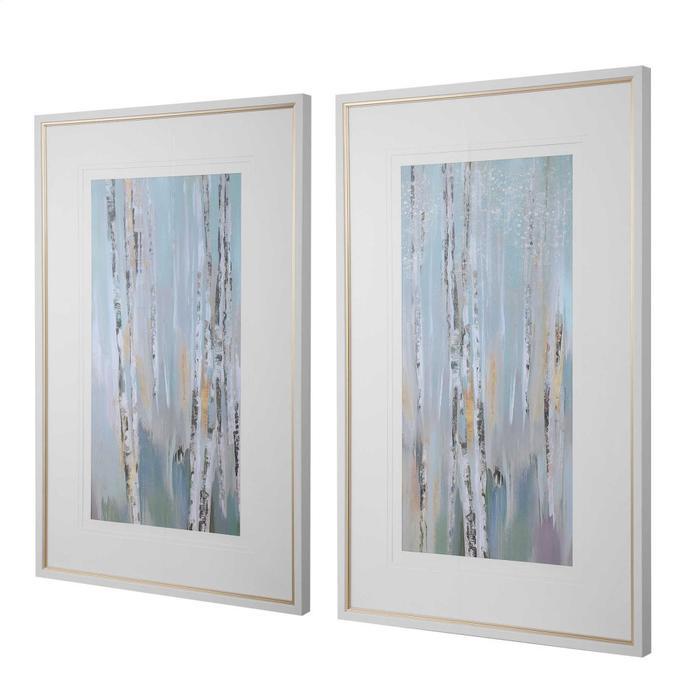 Uttermost - Pandora's Forest Framed Prints, S/2