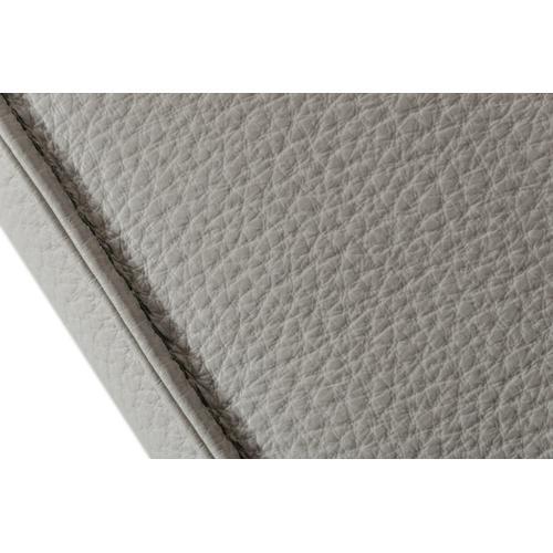 Accenti Italia Lucca - Italian Modern Grey Leather Sofa w/ Electric Recliners