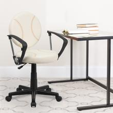 View Product - Baseball Swivel Task Office Chair with Arms