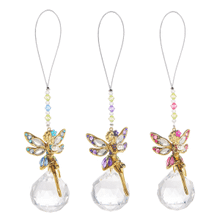 Garden Fairy Pendants (9 pc. ppk.)