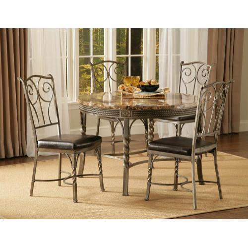 Madison Marble / Metal Dinette Table