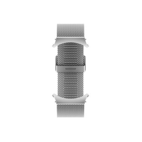Samsung - Galaxy Watch4 Milanese Band, 40mm, Silver