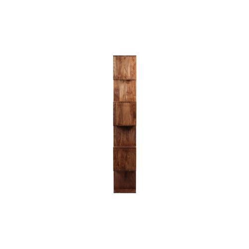 Porter International Designs - Portola Walnut 6 Cube Bookcase, 2001-1232WW
