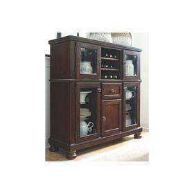 See Details - Porter Dining Room Server w/Storage Rustic Brown