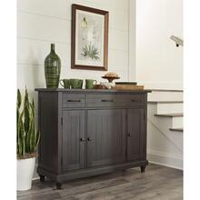 Mckenzie - Sideboard - Matte Black Finish