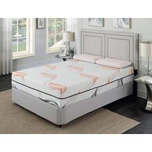 "Cool Jewel Serenade Twin 3/3 Matt 12""gel- Memory Foam"