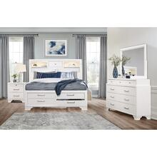 JORDYN WHITE BED