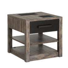 RIVER ROCK - SILTSTONE End Table