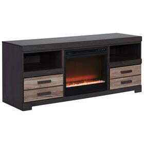 "Harlinton 63"" TV Stand With Electric Fireplace"