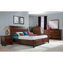 Hanover Grant Storage King Bed, HBR006BKB-CH