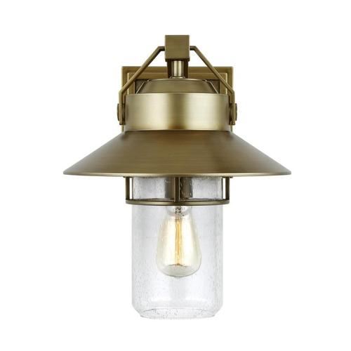 Boynton Large Lantern Painted Distressed Brass