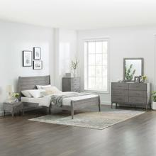 Georgia 5 Piece Bedroom Set in Gray