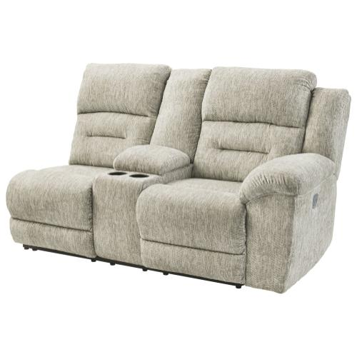 Family Den Right-arm Facing Power Reclining Loveseat With Console