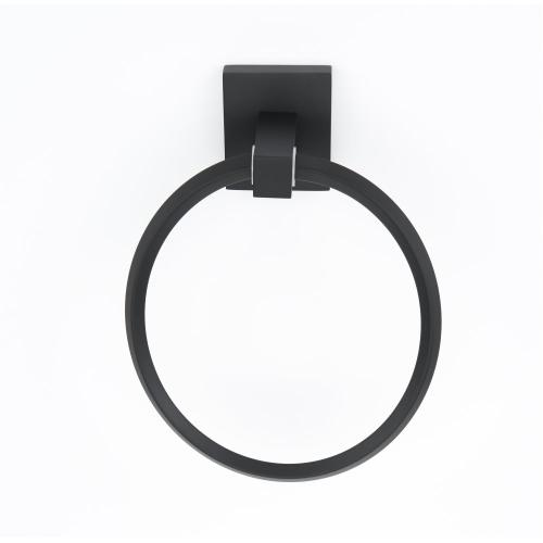 Contemporary II Towel Ring A8440 - Matte Black