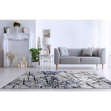 """See Details - Lifestyle 804 Area Rug by Rug Factory Plus - 7'6"""" x 10'3"""" / Navy"""
