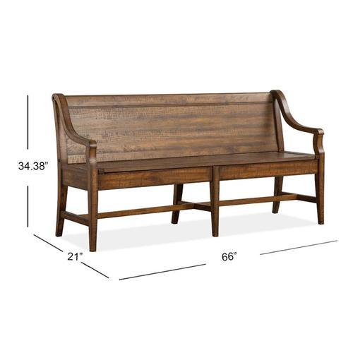 Magnussen Home - Bench w/Back