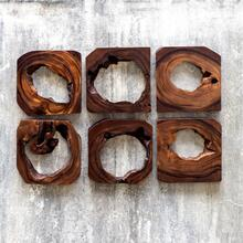 Adlai Wood Wall Art, S/6
