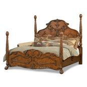 Cal King Poster Bed -(3pc)