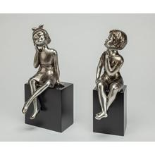 """See Details - """"When We Were Young II"""", set of 2 7x7x16"""" each"""