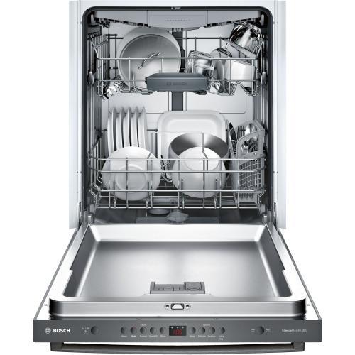 100 Series Dishwasher 24'' Black stainless steel SHXM4AY54N