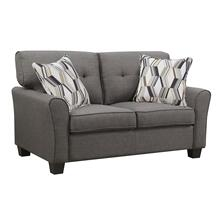 Emerald Home Clarkson Loveseat W/2 Accent Pillows Espresso U3470-01-05