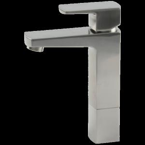 Safire Vessel Lav Faucet Medium Brushed Nickel Product Image