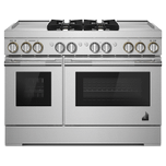 Jenn-AirJenn-Air RISE 48&quot Dual-Fuel Professional Range with Dual Chrome-Infused Griddles