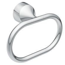 "Idora chrome 24"" towel ring"