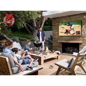 """55"""" Class The Terrace Outdoor QLED 4K UHD HDR Smart TV"""