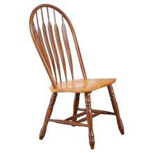 See Details - Comfort Back Dining Chair - Nutmeg Light Oak (Set of 2)
