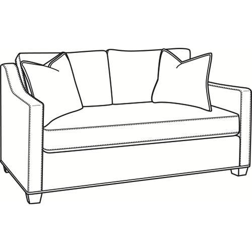 Braxton Culler Inc - Oliver Bench Seat Loveseat