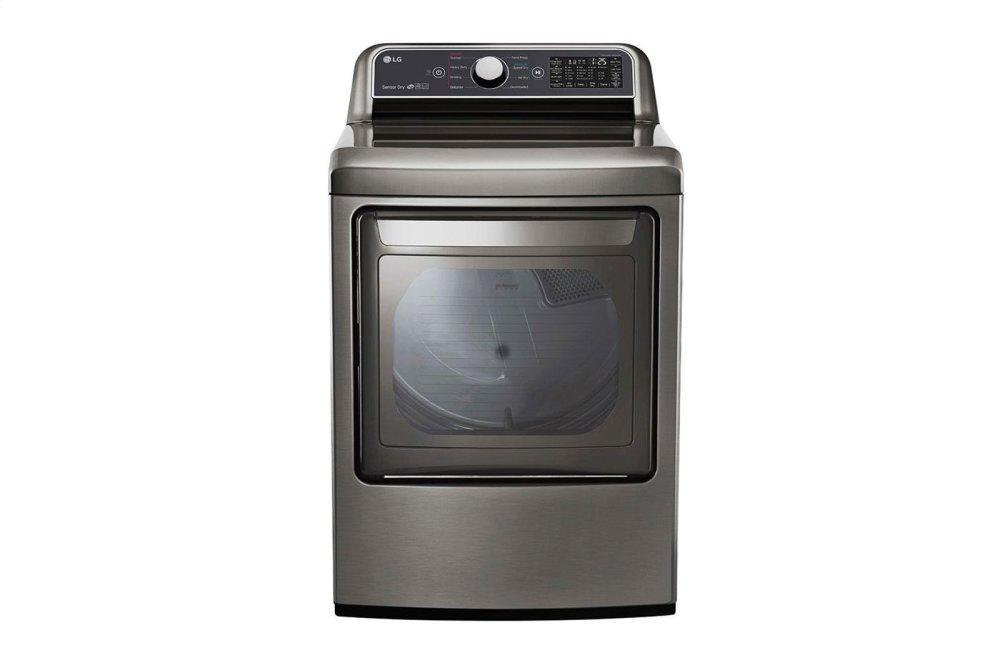 LG Appliances7.3 Cu. Ft. Smart Wi-Fi Enabled Electric Dryer With Sensor Dry Technology