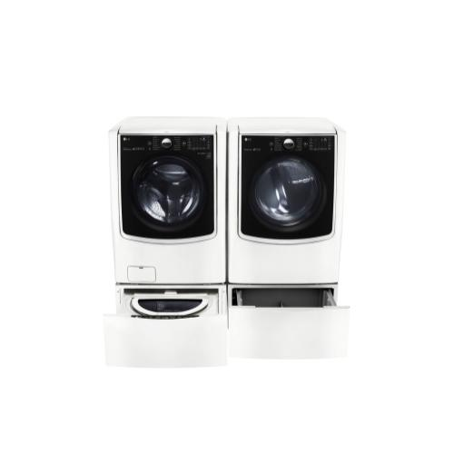 LG - 5.5 Total Capacity LG TWINWash™ Bundle with LG SideKick™ and Gas Dryer