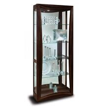 10041 GEMINI II - 2 WAY SLIDING DOOR CURIO CABINET