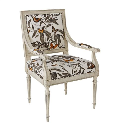 Louis Arm Chair Chippendale Back
