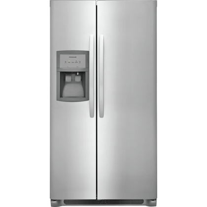 See Details - Frigidaire 22.1 Cu. Ft. Side-by-Side Refrigerator
