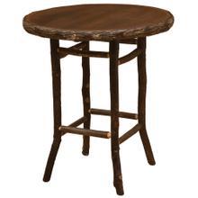 Round Pub Table - 32-inch - Espresso