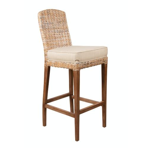 Capris Furniture - 30'' Bar Stool, Available in Antique Cream Finish Only.