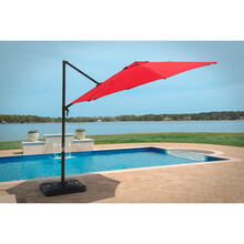 Hanover Red Cantilever Umbrella, CANTILEVER-RED