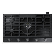 "36"" Gas Cooktop with 22 K BTU Dual Burner, NA36N7755TG/AA (Black Stainless)"