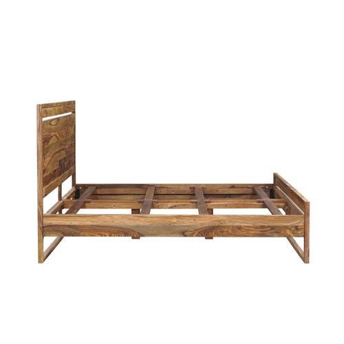 Porter International Designs - Urban Solid Sheesham Wood Bedroom Set, HC1425S01