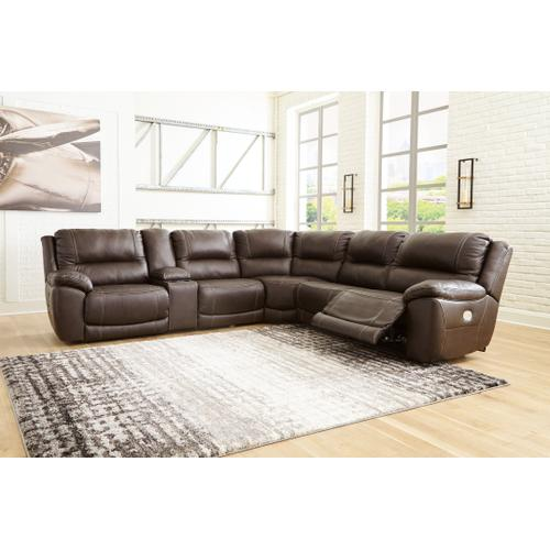 Signature Design By Ashley - Dunleith 6-piece Power Reclining Sectional