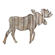 Product Image - Moose Cut Out Rustic Wall Hanging