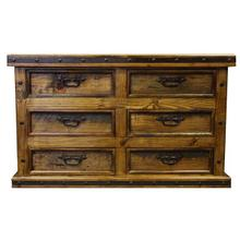 Dresser W/Wood Panels DISCONTINUED