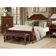 E. King Poster Bed