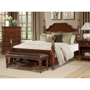 A America - E. King Poster Bed
