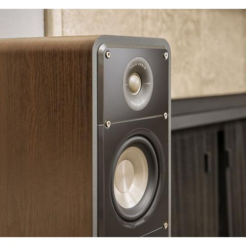American HiFi Home Theater Tower Speaker in Classic Brown Walnut
