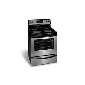 "Frigidaire 30"" Freestanding Electric Range(This is a Stock Photo, actual unit (s) appearance may contain cosmetic blemishes. Please call store if you would like actual pictures). This unit carries our 6 month warranty, MANUFACTURER WARRANTY and REBATE NOT VALID with this item. ISI 37743 B"
