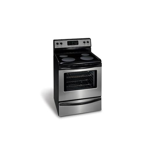 """Refurbished Frigidaire 30"""" Freestanding Electric Range(This is a Stock Photo, actual unit (s) appearance may contain cosmetic blemishes. Please call store if you would like actual pictures). This unit carries our 6 month warranty, MANUFACTURER WARRANTY and REBATE NOT VALID with this item. ISI 44659"""